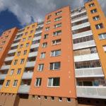 Brno - Bořetická, zasklení systémem AluVista+hliníkové zábradlí